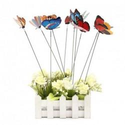 10db pillangó lepke kültéri beltéri dekoráció