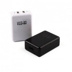 Univerzális 2 Port USB  fali Hálózati töltő 1db
