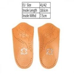42 - 3/4 fél lapos talpa Helyes talpbetétek Ortopéd cipőbetétek ívtartó