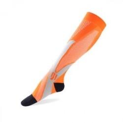 narancs - Új női férfiak lábtartója Stretch Futás Sport Zokni Magic Compression Zokni