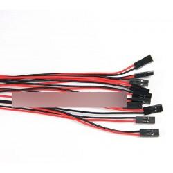 2Pcs70cm 2PIN Kábel szett vezetéket Arduino 3D