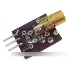 Lézeres érzékelő modul 650nm 6mm 5V 5 mW piros