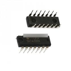 74LS90 SN74LS90N IC  12 és bináris számláló DIP14