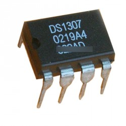 5db IC DS1307 DS1307N DIP-8 RTC SERIAL 512K I2C