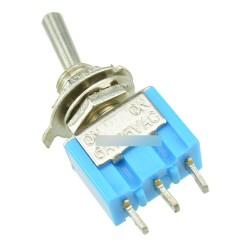 2db 6A 125V MTS-102 3pin 2 pozíció Billenőkapcsoló