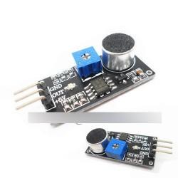 Érzékenységállító potenciométer hangérzékelő modul