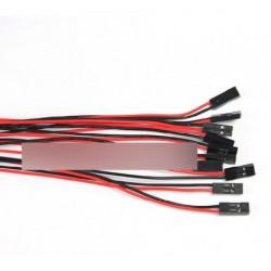 70cm 2PIN Kábel Női-Férfi áthidaló vezeték Arduino
