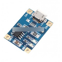 2db MICRO USB 1A akkumulátor töltés modul TP4056