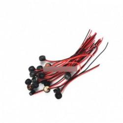 3db 4 *1.5mm elektret kondenzátor mikrofon vezeték