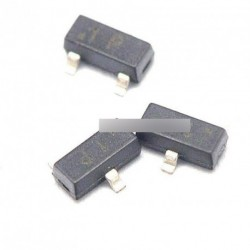 100db MMBT2222 SOT-23 2N2222 SMD NPN tranzisztor