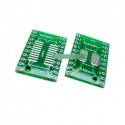 2db SOP20 SSOP20  0,65 / 1,27 mm IC Adapter PCB