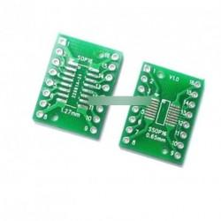 5db SOP16 SSOP16  0,65 / 1,27 mm IC Adapter PCB