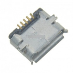 10db USB Micro 5-Pin Female csatlakozó jack aljzat