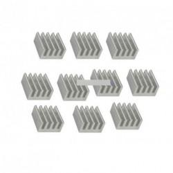 20db alumínium 8.8x8.8x5MM Hűtőtestek Chip IC
