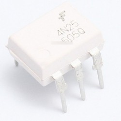 5db optocsatoló FAIRCHILD / MOTOROLA 4N25 4N25M