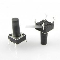 5db Tapintható nyomógombos  mikrokapcsoló 6X6X13