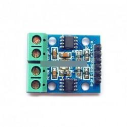 H-híd Léptetőmotor Dual DC Motor Driver kontroller