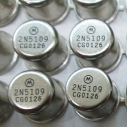 RF / VHF / UHF Transistor MOTOROLA / RCA-39 2N5109