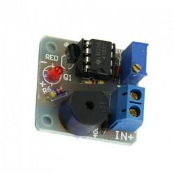 12V Új Akkumulátor fény figyelmeztető hangjelzés