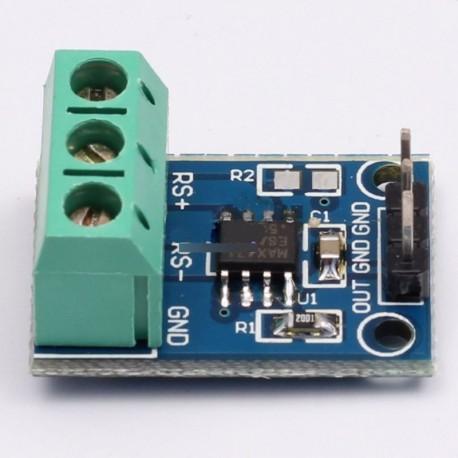 3A tartomány  érzékelő modul MAX471 Arduino