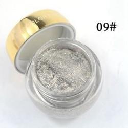 9 * - 16 színek Glitzy Shimmer szemhéjárnyaló szemhéjárnyaló krémzselé sminkpor