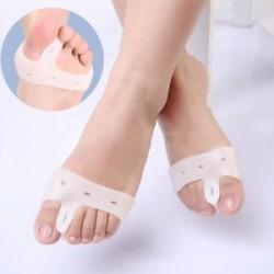 Szépség talpbetét Hallux Valgus lábujj elválasztó pad Deformity Correction Szilikon