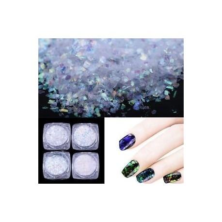 5479fe36a5 Kaméleon Színes barkácsművészeti körömfesték Manikűr díszítés Glitter Chrome