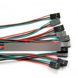 5Pcs70cm 3p Kábelszett Arduino 3D nyomtató Reprap