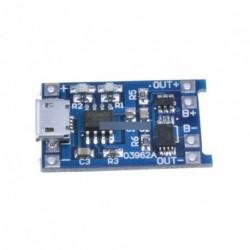 5db 5V Micro USB 1A 18650 lítium akku töltő modul
