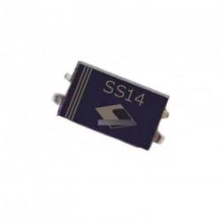 100db 1N5819 SS14 40V 1A Schottky dióda