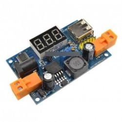 LM2596 DC-DC konverter tápegység + LED voltmérő