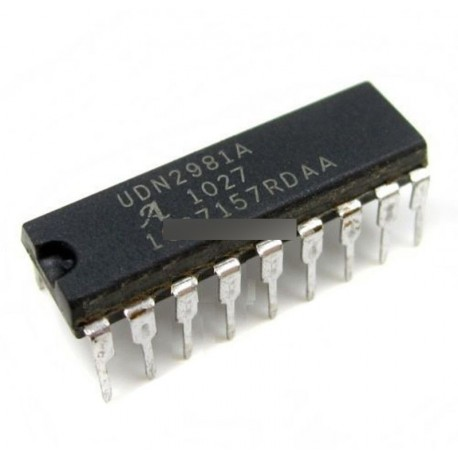 5db  UDN2981 IC forrású driver 8CHAN 18-DIP
