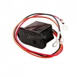 Mini 12V Akkumulátor jelző LED voltmérő modul