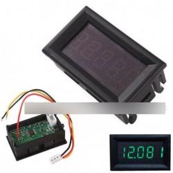 """Zöld 0,36 """"LED 5 jegyű digitális voltmérő panel"""