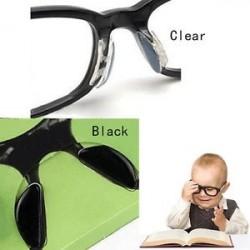 5Pairs Szemüveg Napszemüvegek Szemüvegek Csúszásgátló szilikon rúd az orrpárnára