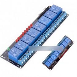 8 csatornás 5V relé modul Arduino Uno 2560 1280