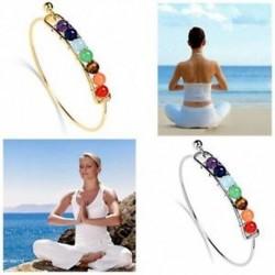 Új Élet Energia Ékszerek Jóga Karkötő Gyógyító egyensúly Gyöngyök 7 Chakra