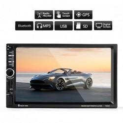 7'' HD autós Bluetooth GPS navigáció Radio+ kamera