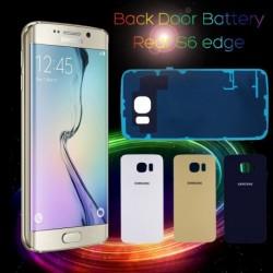 Back Door Akku üveg hátsó tok Samsung Galaxy S6