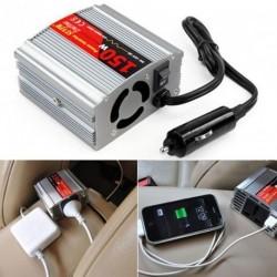Jármú konvertálás inverter USB töltő port DC 12V