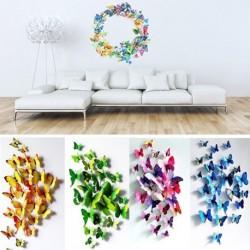 Színes pillangó matrica falimatrica szoba dekor