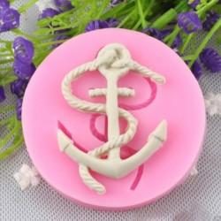Horgony Alak Szilikon fondant sütemény forma