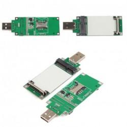Mini PCI-E vezeték nélküli WWAN kártya USB Adapter