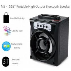 Hordozható Bluetooth hangszóró Bluetooth - USB - TF - FM rádió - AUX