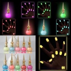 8ml Fluoreszkáló izzó Candy Glow Körömlakk 1db