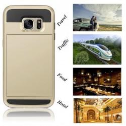 Legújabb zseb ütésálló tok Samsung Galaxy S7 edge
