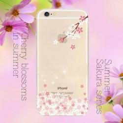 Szilikon Festett Sakura Puha tok iPhone6 /6S 1db