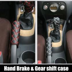 Kézifék & váltókar védő autó belső 2db / szett