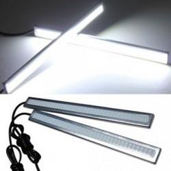 2db 17cm világos fényes 12V vízálló COB autó LED ködlámpa ultrafehér lámpa
