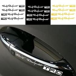 4db Fényvisszaverő TRD Racing ajtó autós fogantyú Vinyl matrica